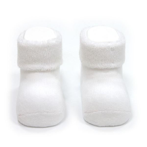 Calcetines para Bebe Liso Blanco