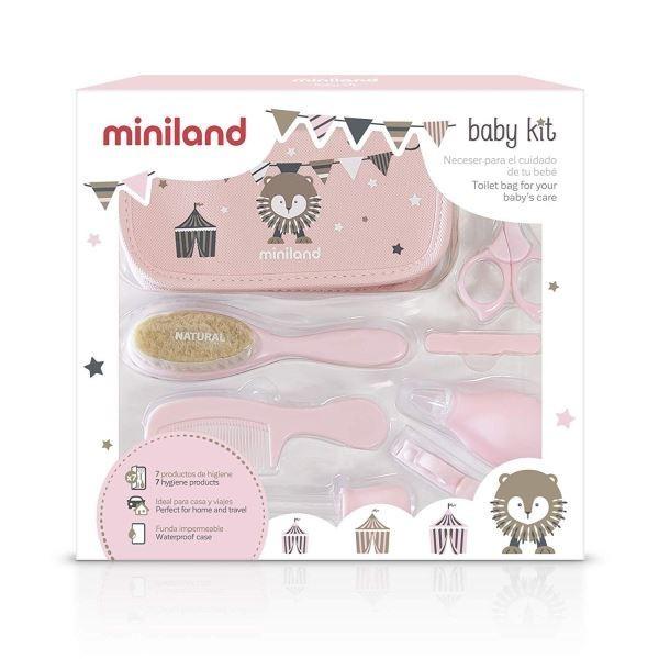 Set de higiene Baby Kit Rosa Miniland