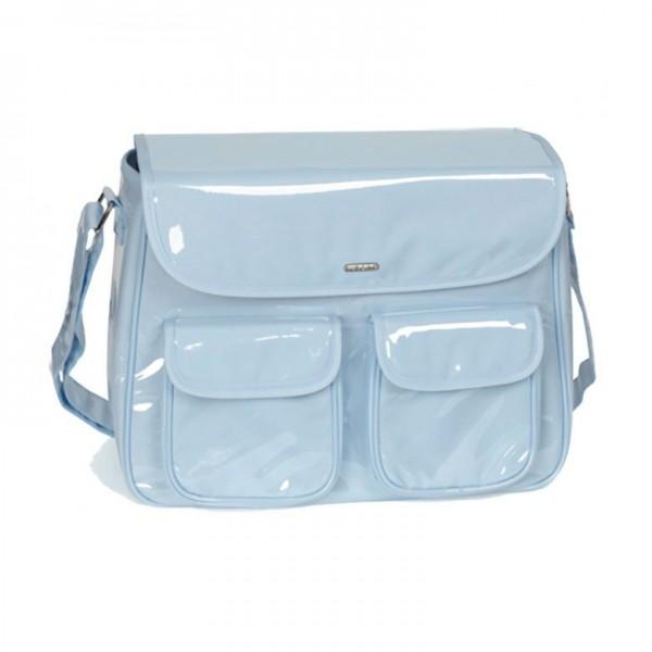 Bolso en plástico Bebedue Ciao Soft Blue