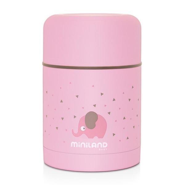 Termo sólidos Silky Food Thermos Pink...