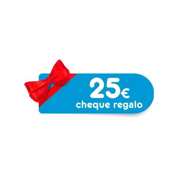 Cheque Regalo MPC25