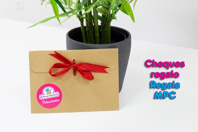 Cheques regalo, regala MPC
