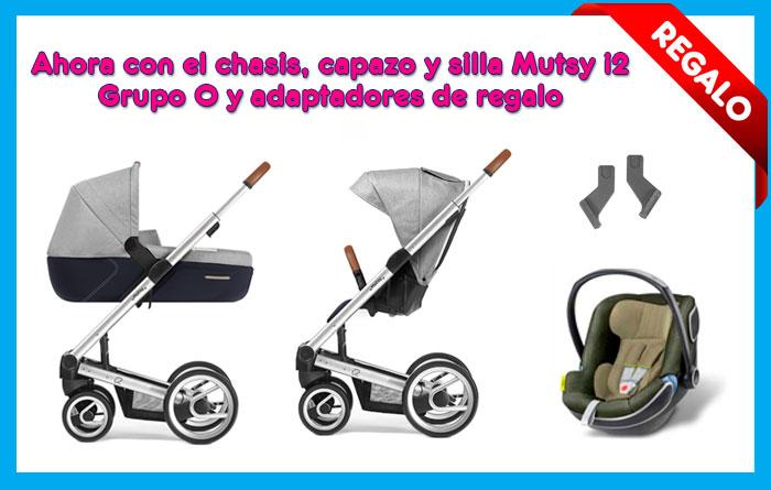 Promoción Mutsy i2 regalo de grupo 0 y adaptadores