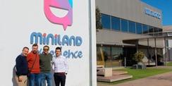 Visita a la fábrica de Miniland
